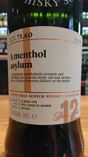SMWS 71.60 - A menthol asylum
