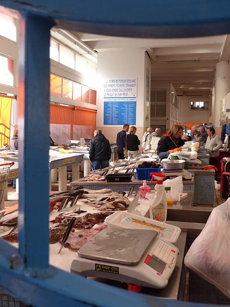 marché poissons