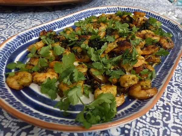crevettes mexicaines