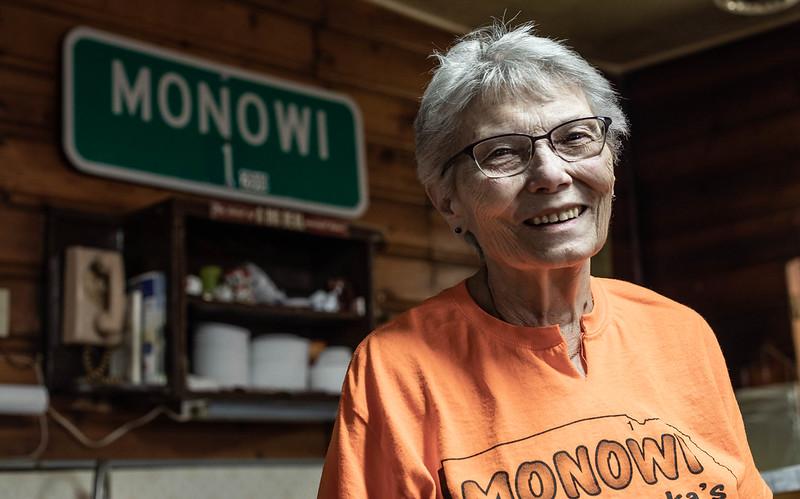 Elsie Eiler, Monowi, NE