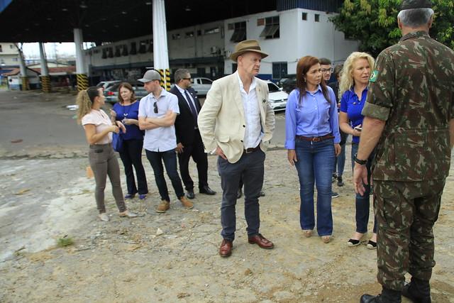 11.07.19 Visita do Embaixador da Irlanda aos imigrantes venezuelanos