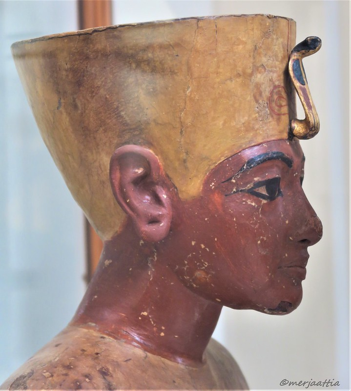 Profile of the Mannequin of Tutankhamun