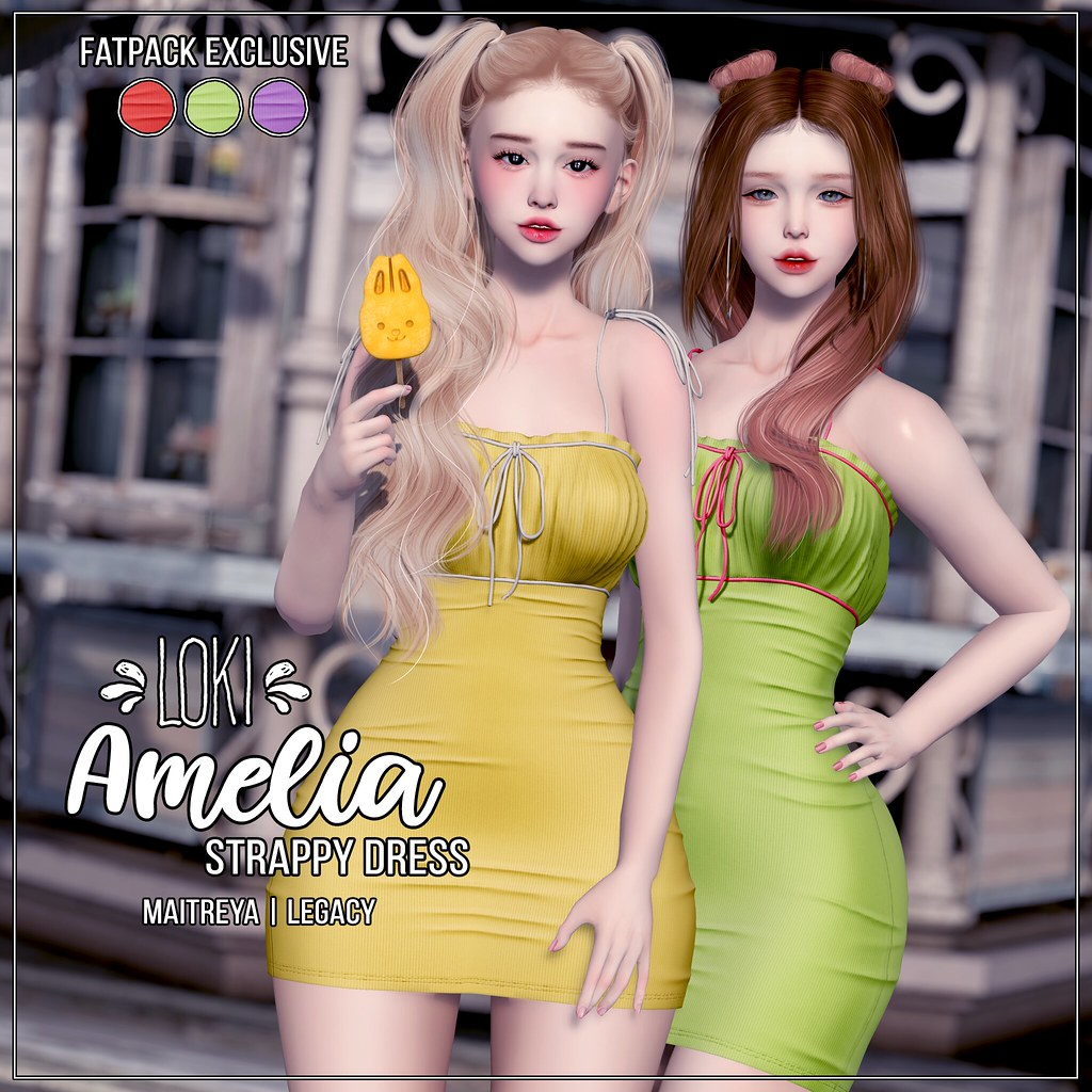 Loki • Amelia Strappy Dress • ACCESS | July '19 - TeleportHub.com Live!