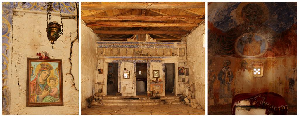 Abandoned chapel, Himara Castle