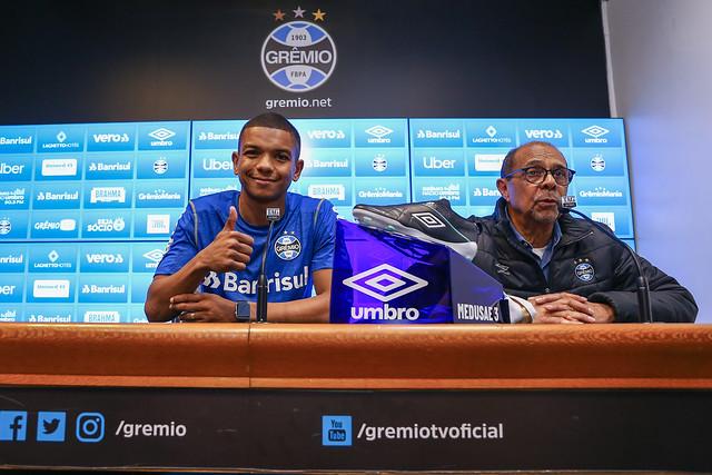 Apresentação David Braz no Grêmio