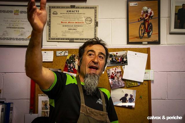 Lliçons de vida - Retrat ciclista a Juanjo Méndez 'el Cojo Cabrón'