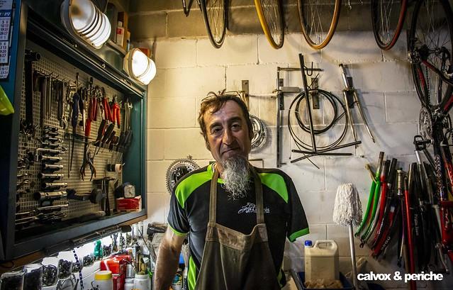 Juanjo Méndez 'el Cojo Cabrón' - Retrat ciclista a Juanjo Méndez 'el Cojo Cabrón'
