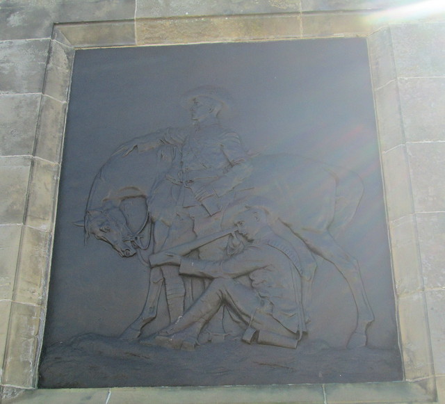 Bronze Plaque, Boer War Memorial, Beauly