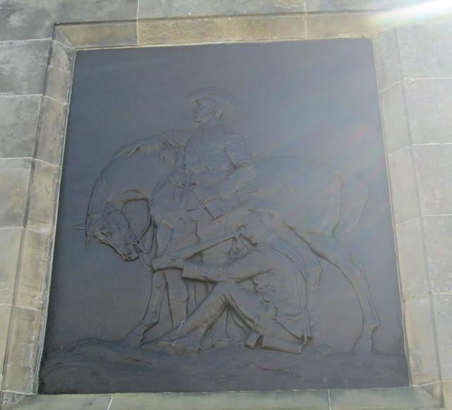 Bronze Plaque, Boer War Memorial, Beauly