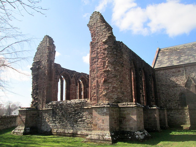Ruins, Beauly Priory