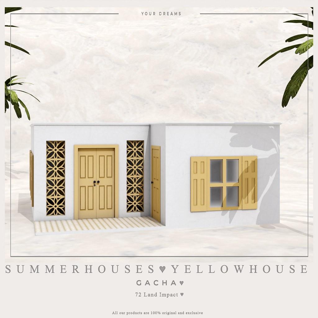 {YD} Summer Houses ♥ Gacha