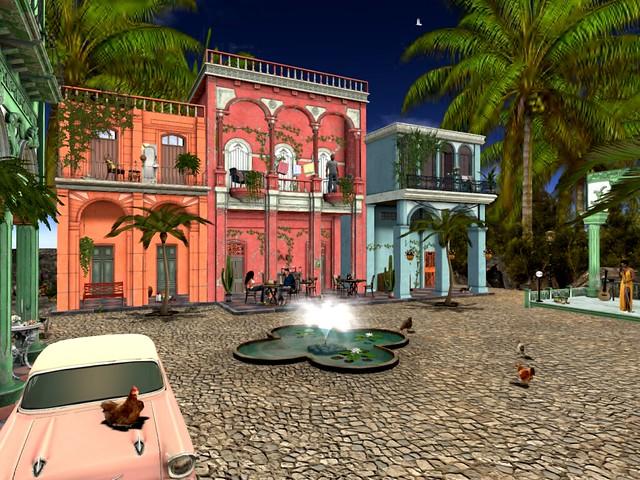 Octopussy goes Cuba -Plaza Cuidad