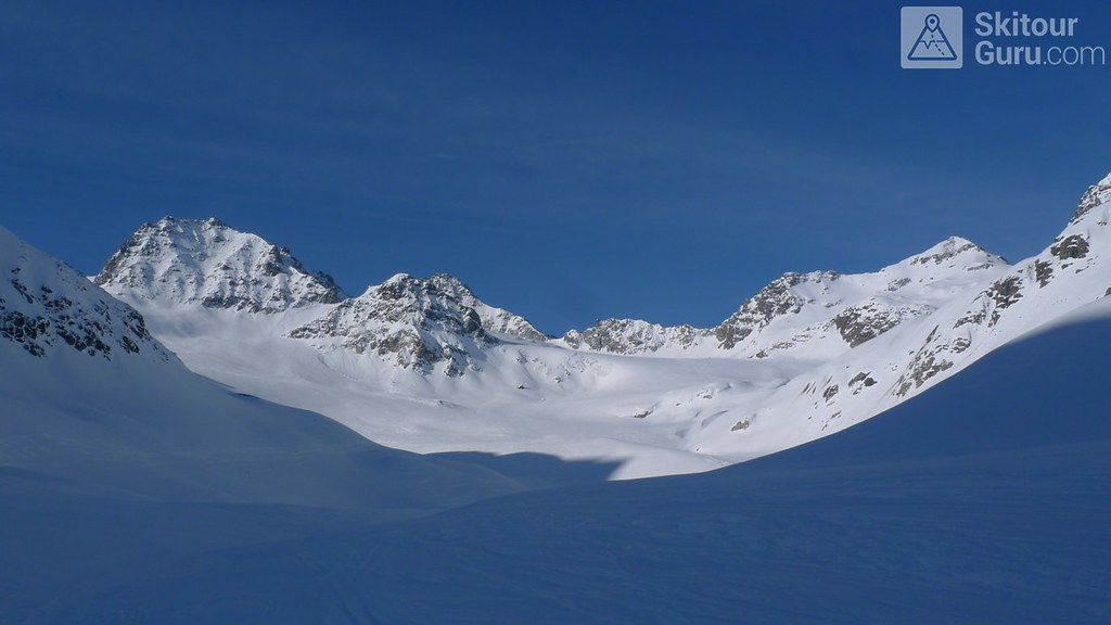 Dreiländerspitze NE (Jamtalhütte) Silvretta Rakousko foto 06