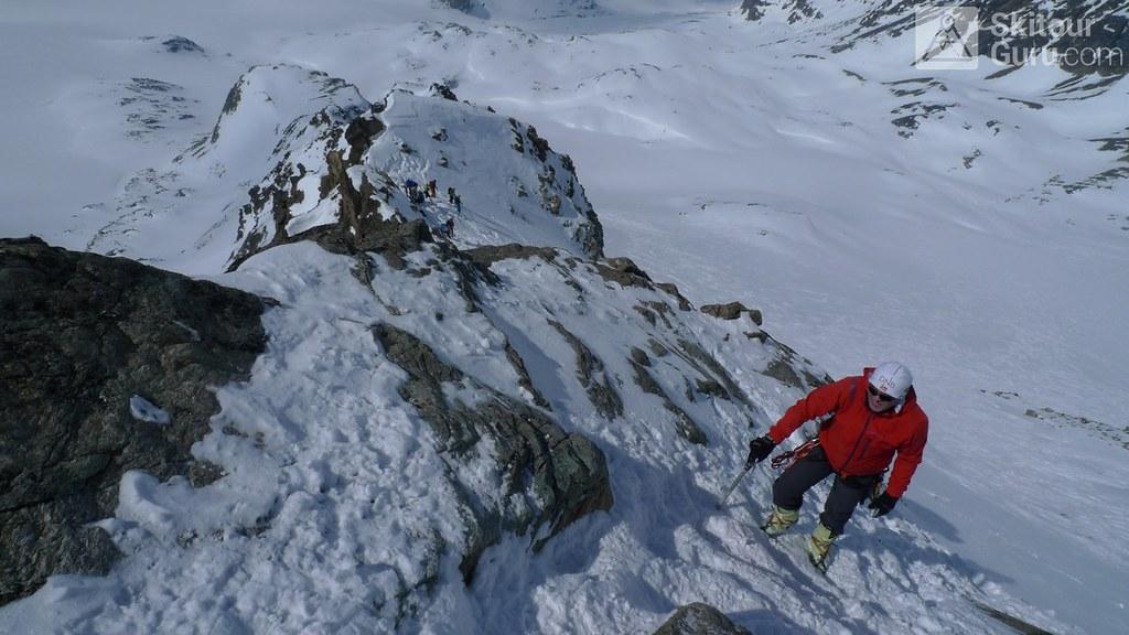 Dreiländerspitze NE (Jamtalhütte) Silvretta Rakousko foto 03