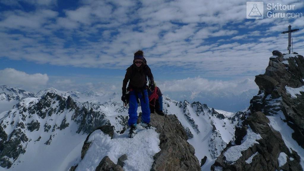 Dreiländerspitze NE (Jamtalhütte) Silvretta Rakousko foto 21
