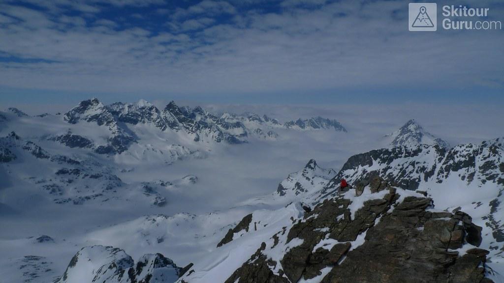 Dreiländerspitze NE (Jamtalhütte) Silvretta Rakousko foto 22