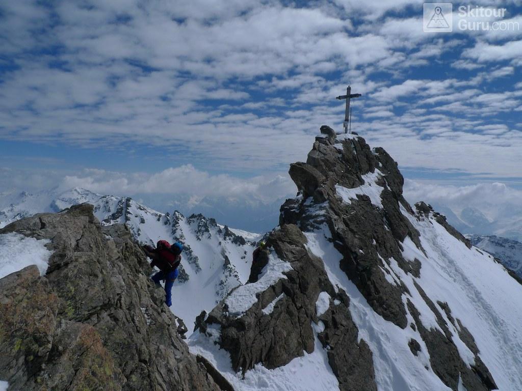 Dreiländerspitze NE (Jamtalhütte) Silvretta Rakousko foto 20