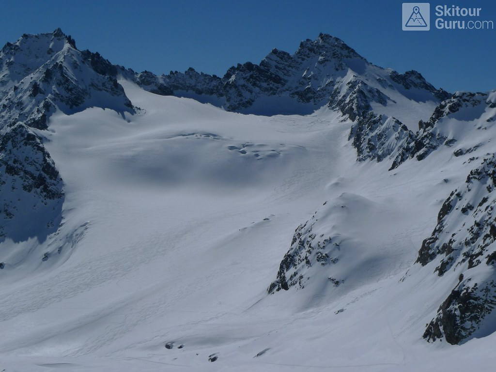 Dreiländerspitze NE (Jamtalhütte) Silvretta Rakousko foto 09