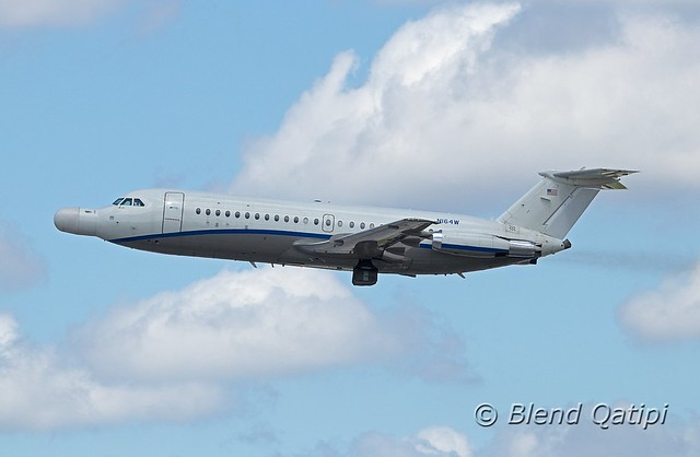 N164W - Last ever BAC One-Eleven departure?
