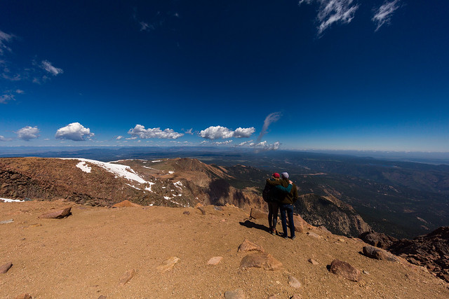 Flat Earth from Pikes Peak