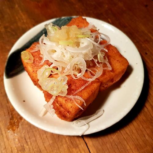 Japanische Tapas - Frittiertes Tofu
