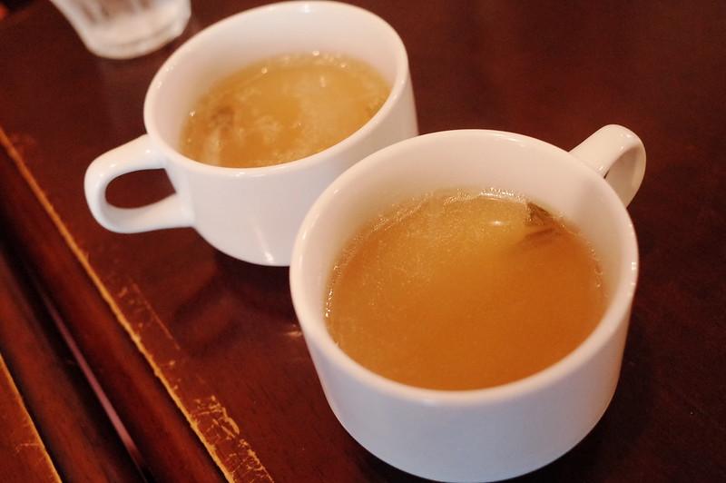 池袋西口CARTAランチのスープ