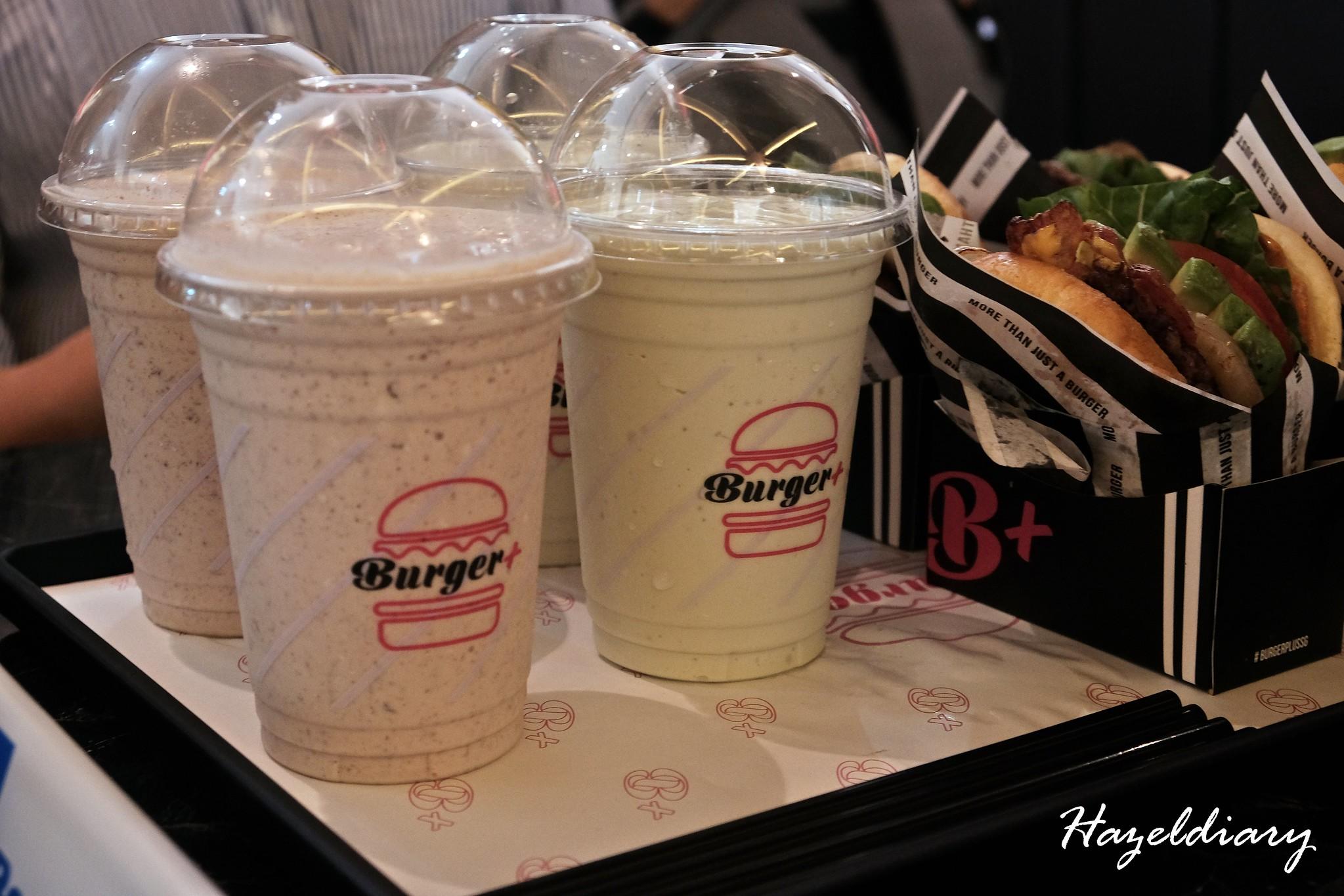 Burger+ Wisma Atria-Milkshakes