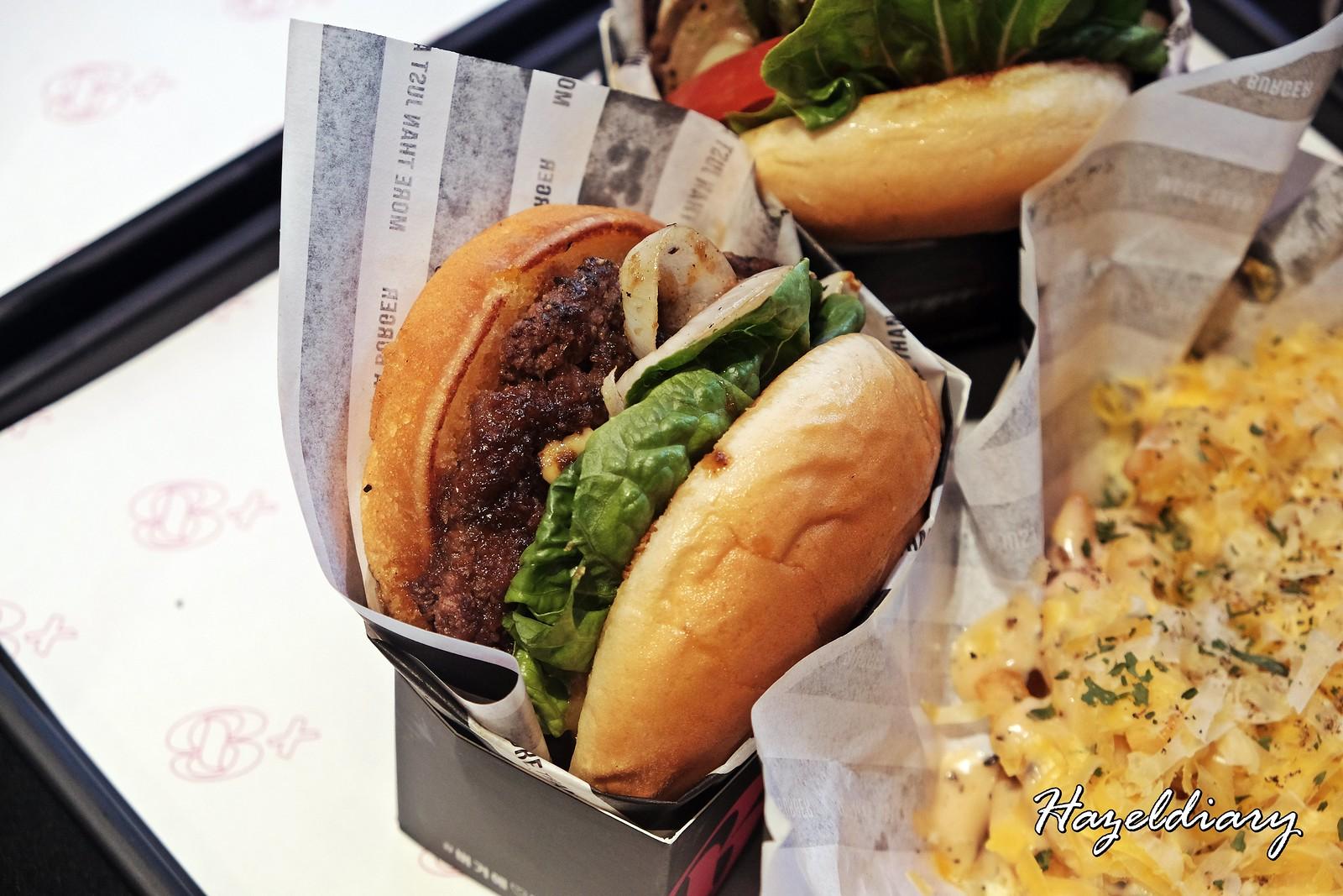 Burger+ Wisma Atria-Korean Bulgogi Burger