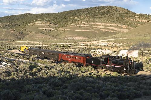 nevadanorthern nn kcc kennecottcopper elynevada keystonenevada 260 prairie steamlocomotive wye whitepinecountynevada