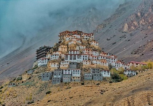 The Key Monastery !! #Himalayas #Mountains #HimachalPradeshTravel #SoulMountain #SoulMountainExpedit