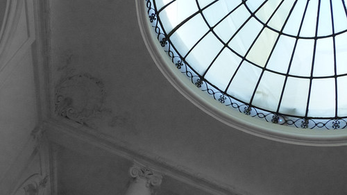 A17830 / a quadrant of the dome at the neue galerie