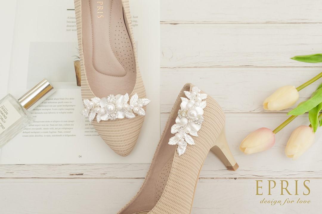台中婚鞋 婚鞋飾扣 鞋扣 水鑽鞋扣