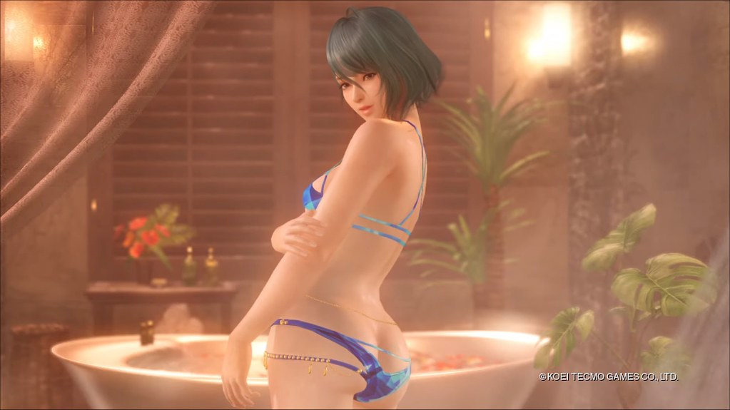 Dead or Alive Xtreme Venus Vacation - Immersione pericolosa di Tamaki