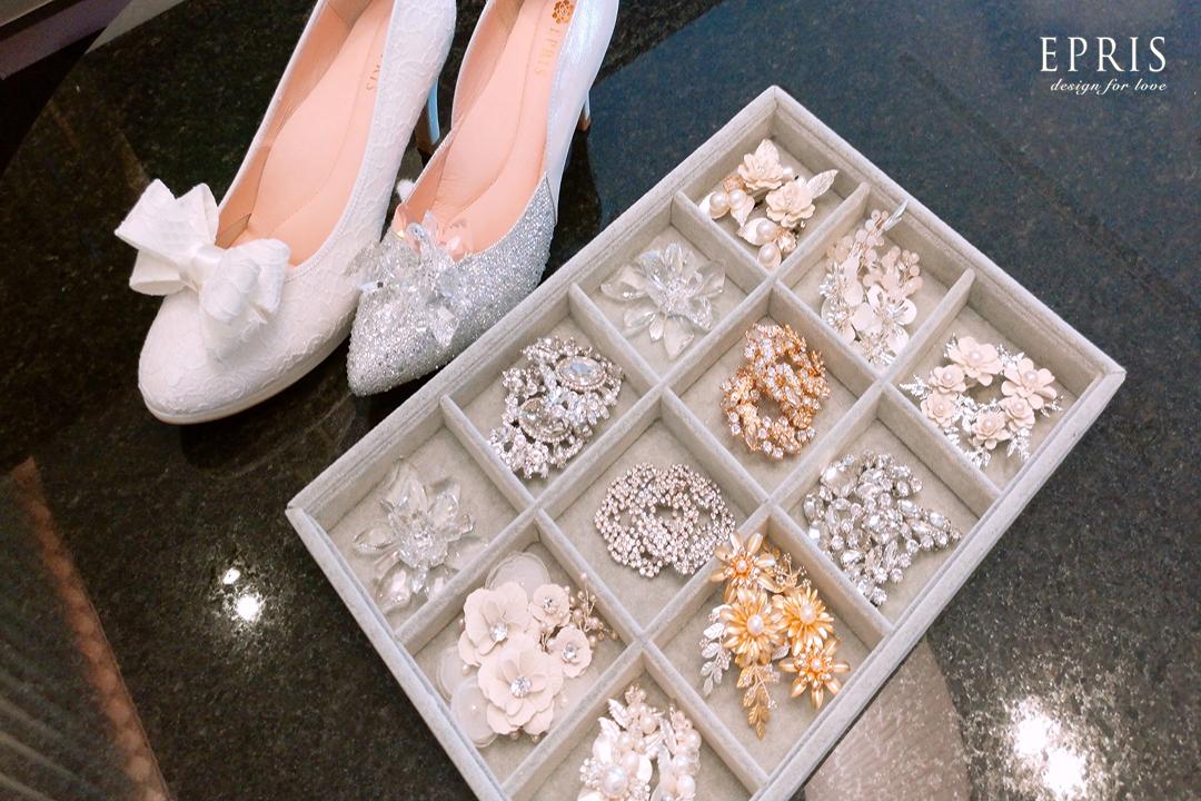 台中婚鞋 鞋飾