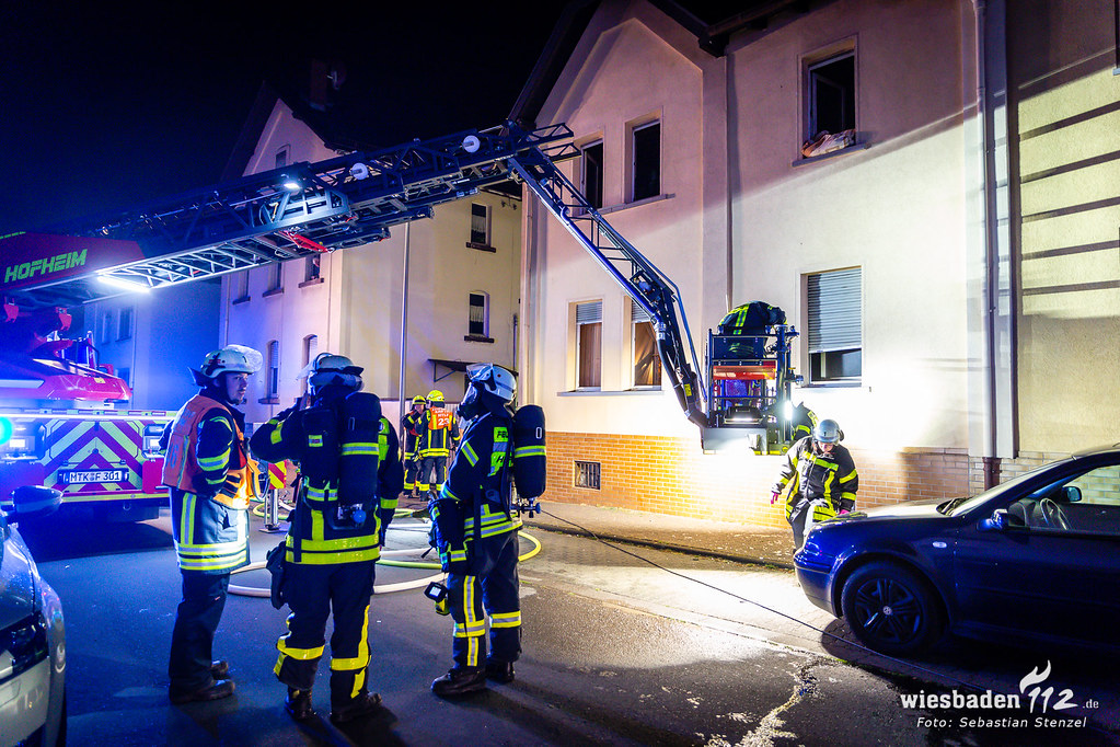 Tödlicher Wohnungsbrand Kriftel 11.07.19