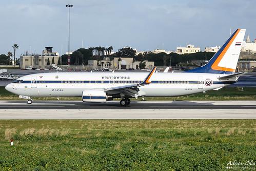 Thailand Air Force --- Boeing 737-800 BBJ --- HS-MVS