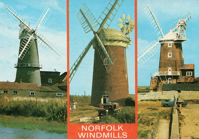 UK - Norfolk Windmills,,