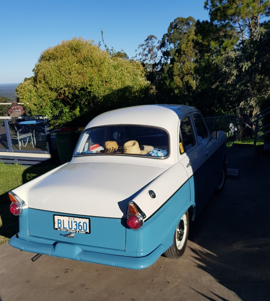 Morris Major 1960, made by BMC at Zetland NSW