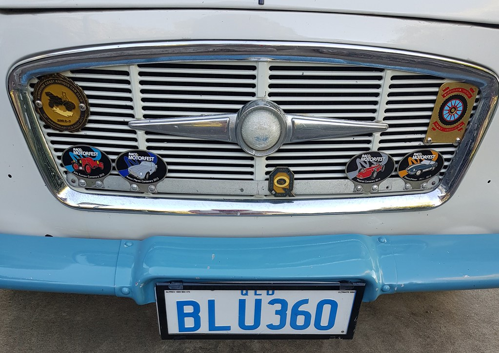 Morris Major 1960, made by BMC at Zetland NSW seen here in Landsborough QLD
