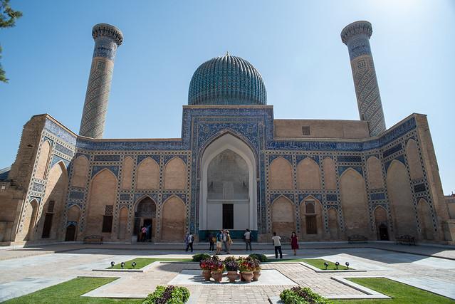 Gur-e Amir, Tomb of Tamerlane, Samarkand, Uzbekistan