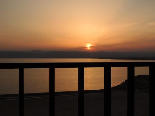 deadsea dodezee jordanië jordan sunset zonsondergang coucherdusoleil sonnenuntergang