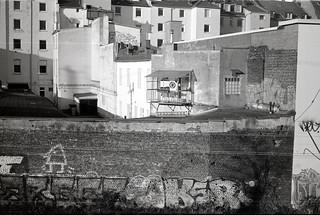 одинокий балкончик