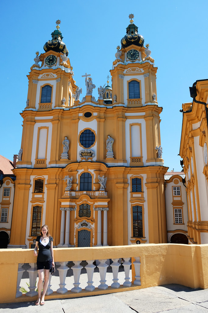 Travelling When Pregnant: 8th month, Melk Abbey, Austria