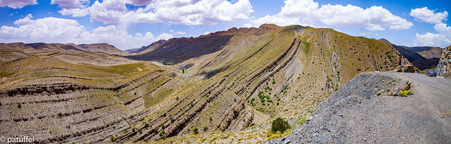 High Atlas mountain panorama - Morocco