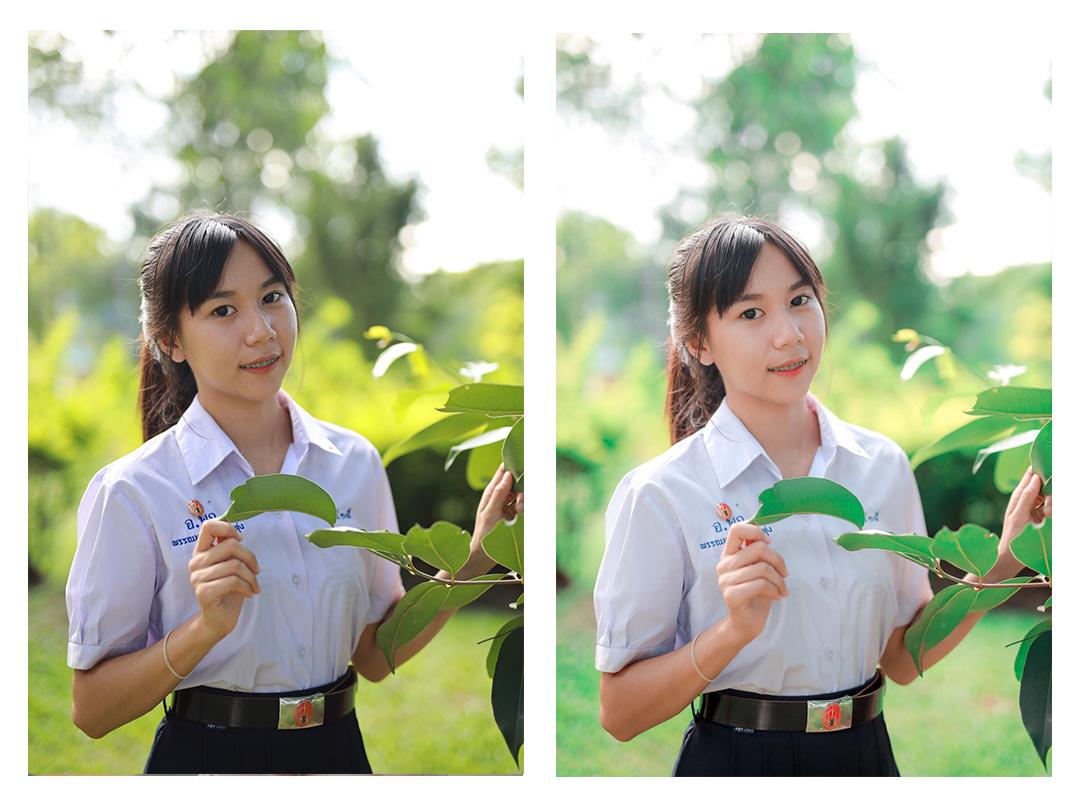 ภาพถ่ายโทนสีเขียว