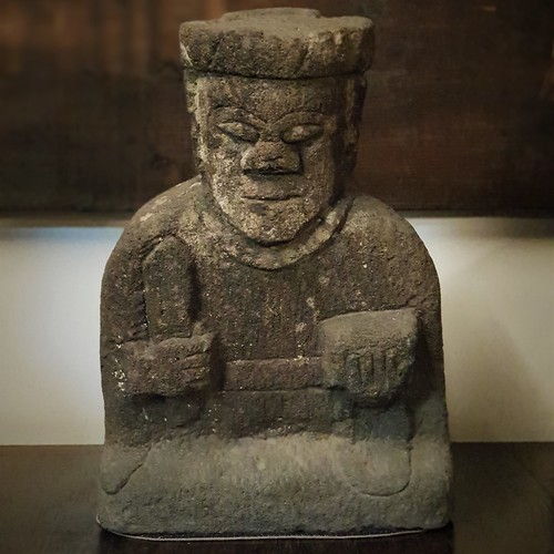 Japanische Steinfigur