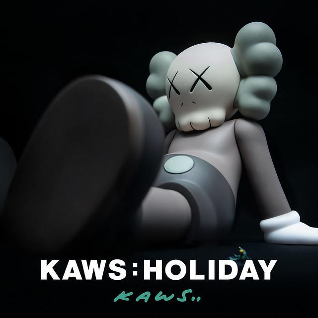 KAWS:HOLIDAY亞洲巡迴的第二站:台灣