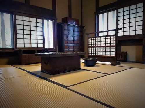Eine klassisch-japanische Inneneinrichtung