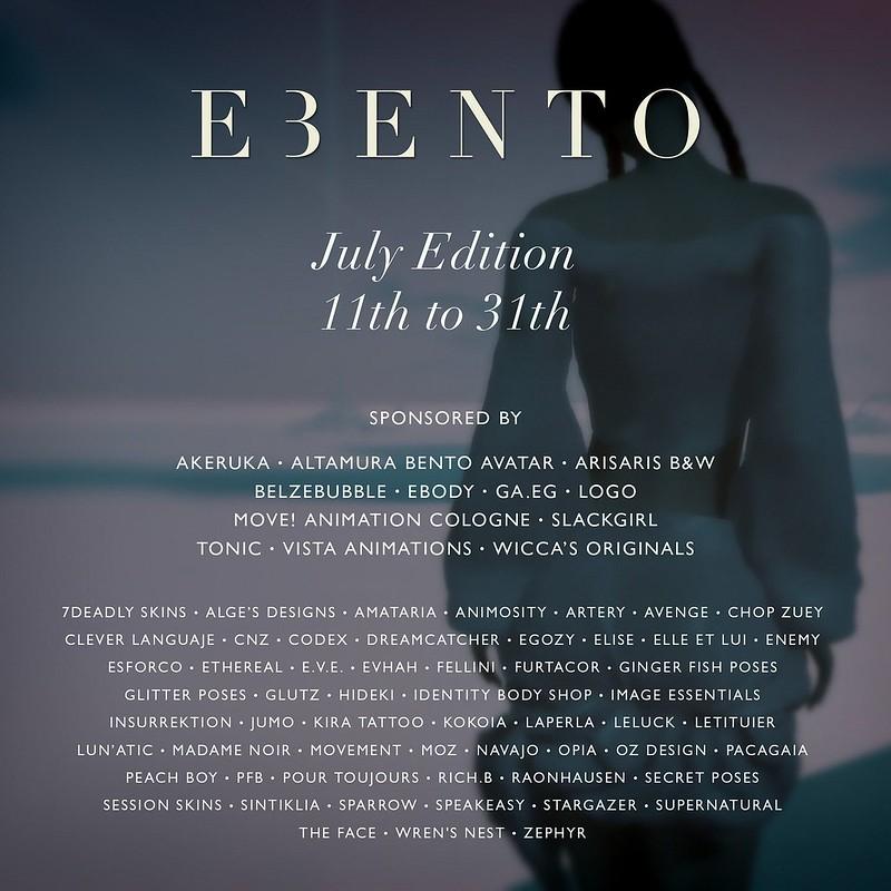 eBento - July