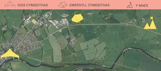 MAP GWERSYLL CYI - newydd